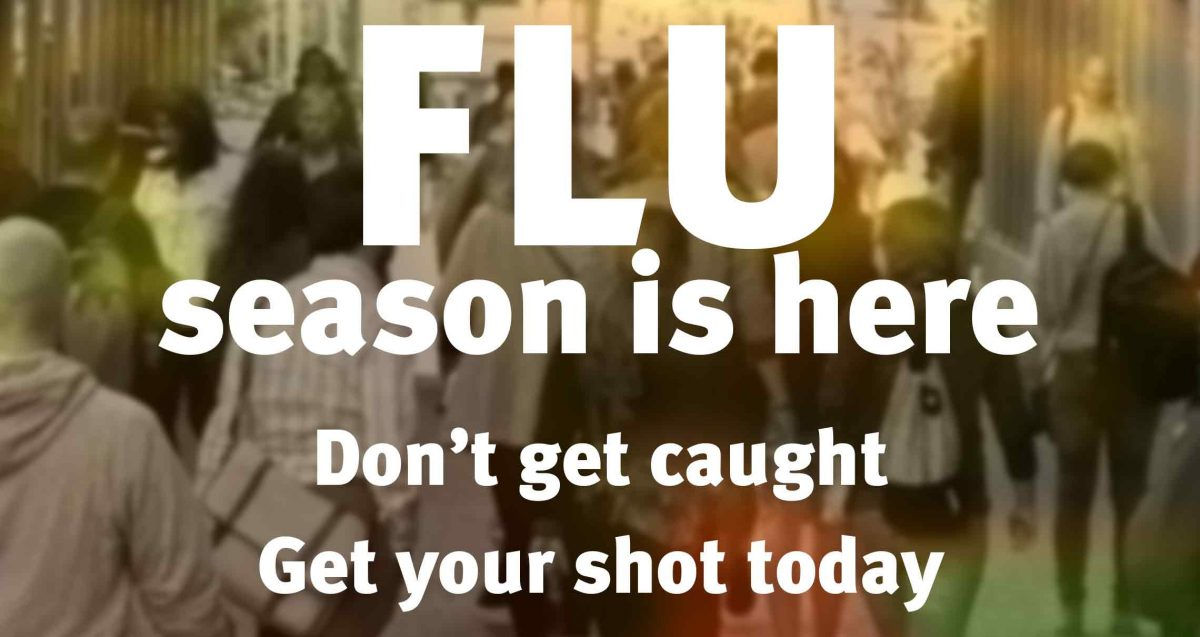 Flu season is here - don't get caught - get your shot today - just stop by and we'll take care of you