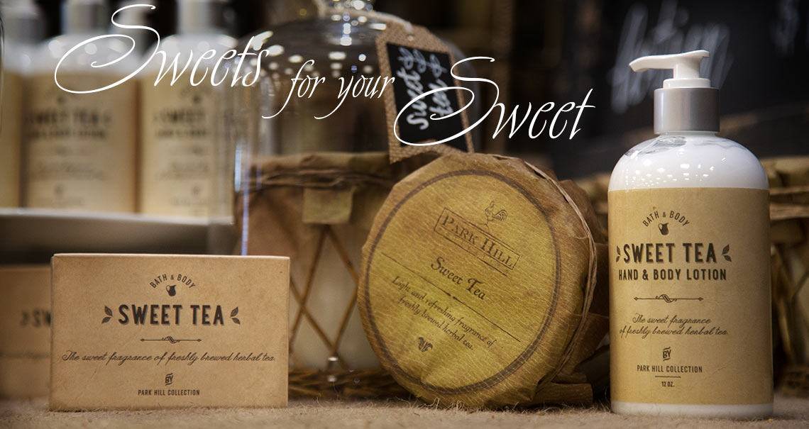 Sweets for your sweet - Sweet Tea brand soap, lotion and candle