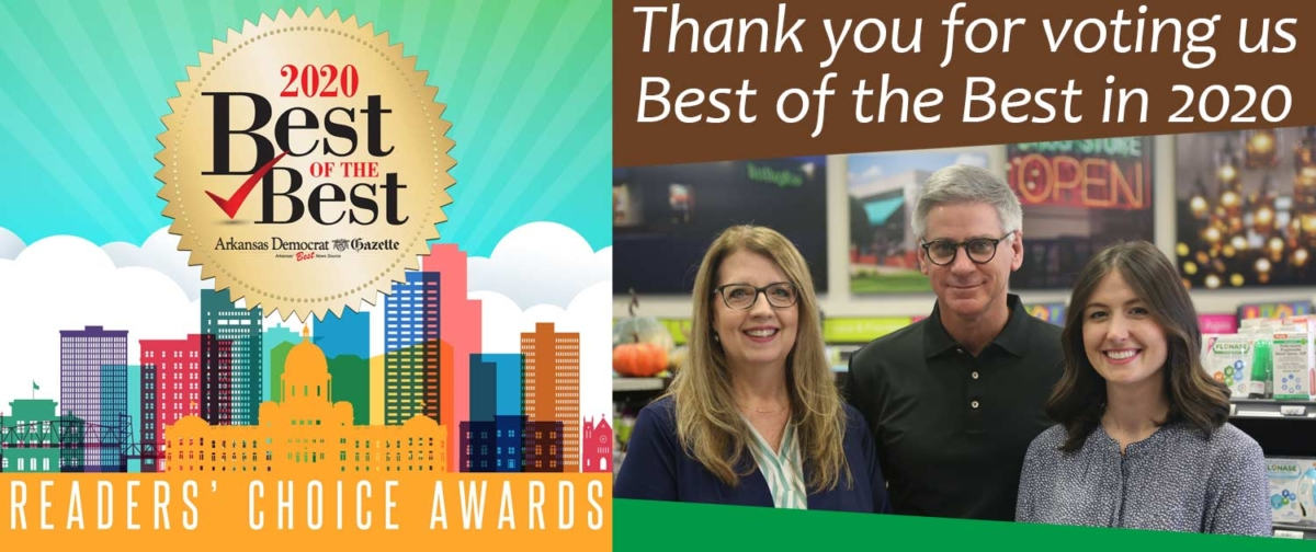 Thank you for voting us Best of the Best in 2020
